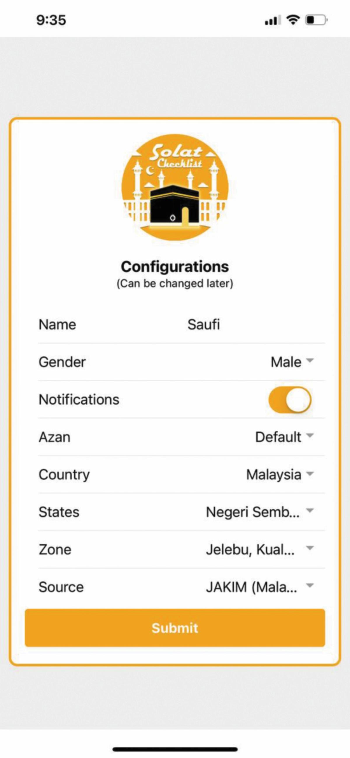 APLIKASI yang memudahkan pengguna sepanjang Ramadan.