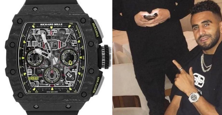 SELAIN jam tangan Mille bernilai £230,000 (RM1.2 juta), bintang Manchester City itu juga kehilangan Roley Daytona, £40,000 (RM214,000) dan Rolex Day Date £35,000 (RM187,000). FOTO Agensi