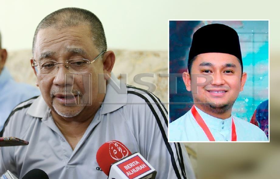 ISA Samad ditemui di Kampung Bagan Pinang. (Gambar kecil) Anaknya, Mohd Najib. FOTO Iqmal Haqim Rosman / arkib NSTP