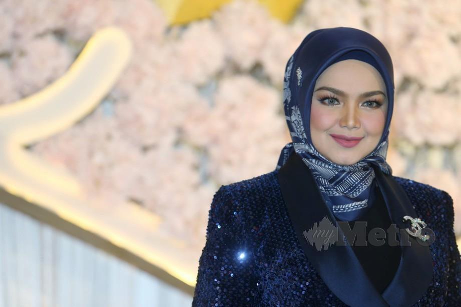 DATUK Seri Siti Nurhaliza. FOTO Rohanis Shukri