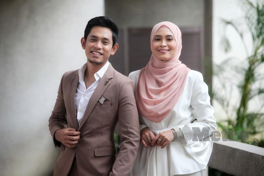 NANA (kanan) bergandingan dengan Khai Bahar menerusi duet Satukan Rasa. FOTO Mahzir Mat Isa