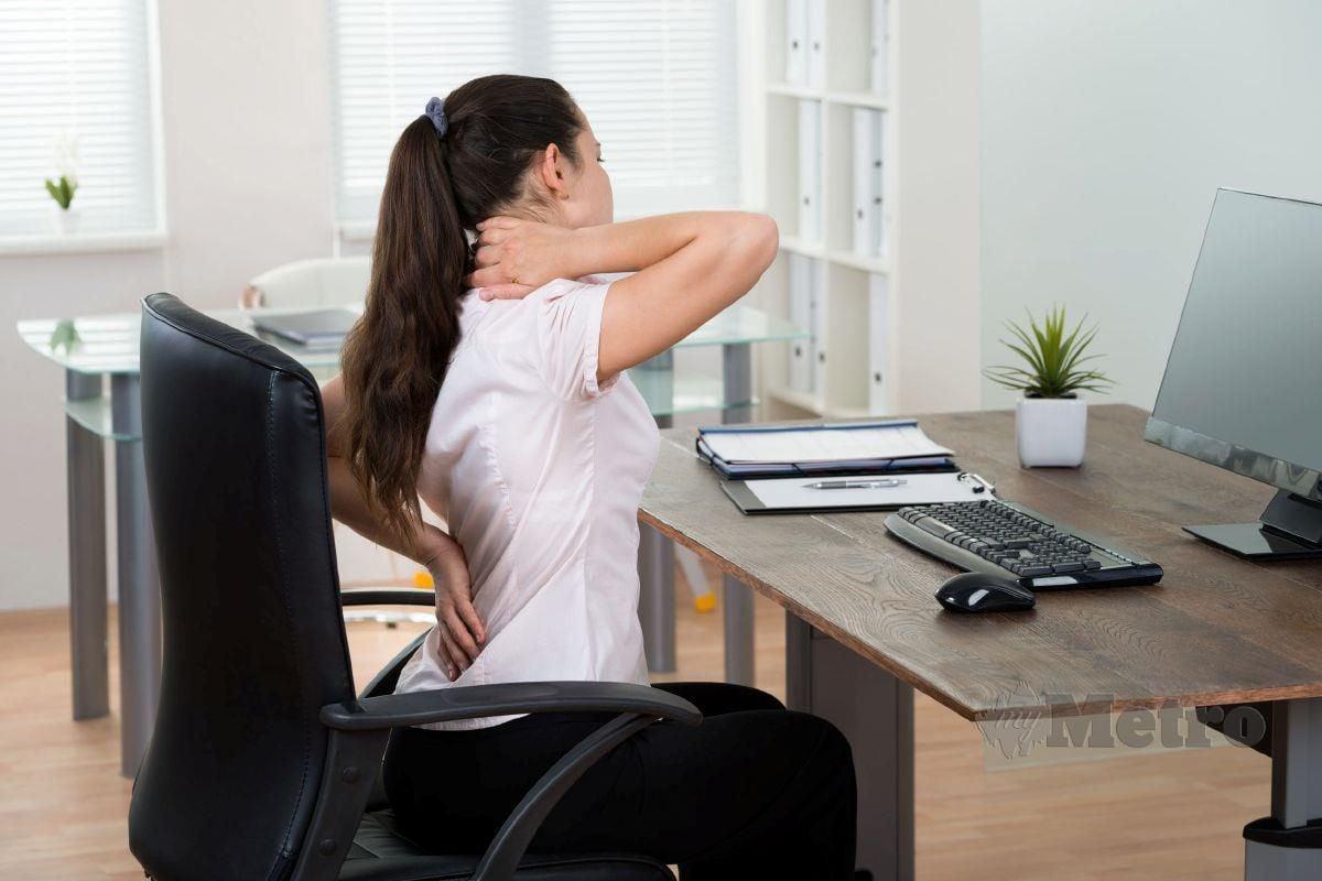 SAKIT sendi juga kerap berlaku apabila duduk dalam tempoh lama.