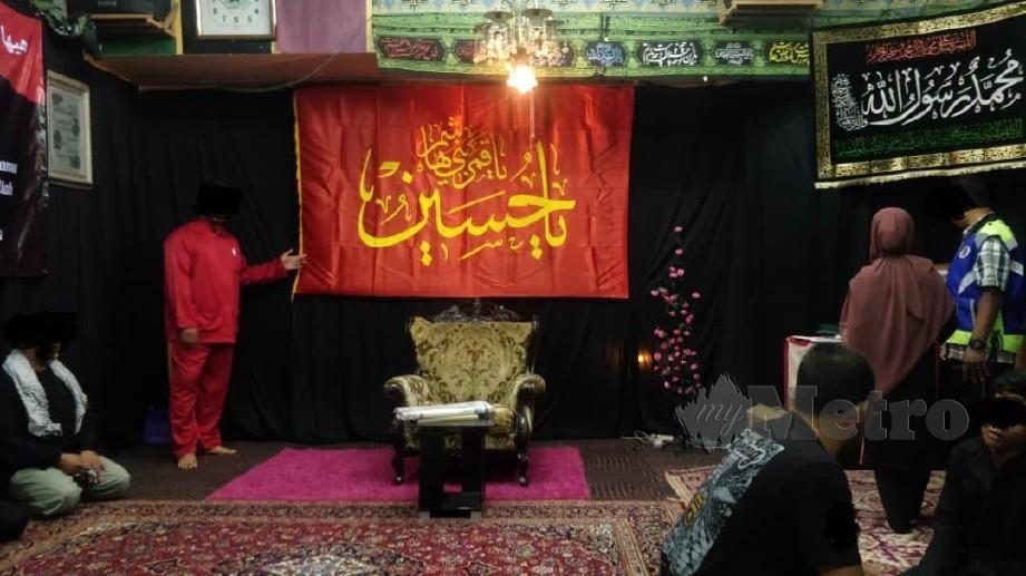 PENGIKUT Syiah yang ditahan Jabatan Agama Islam Selangor (JAIS) di sebuah markas di Taman Sri Gombak, pada 7 September 2019. FOTO arkib NSTP