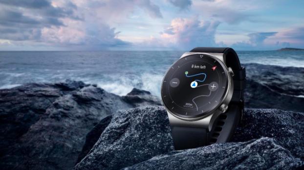 Jam tangan pintar ini membolehkan anda mengembara dengan lebih yakin tanpa perlu risau tersesat jalan. - Foto HUAWEI
