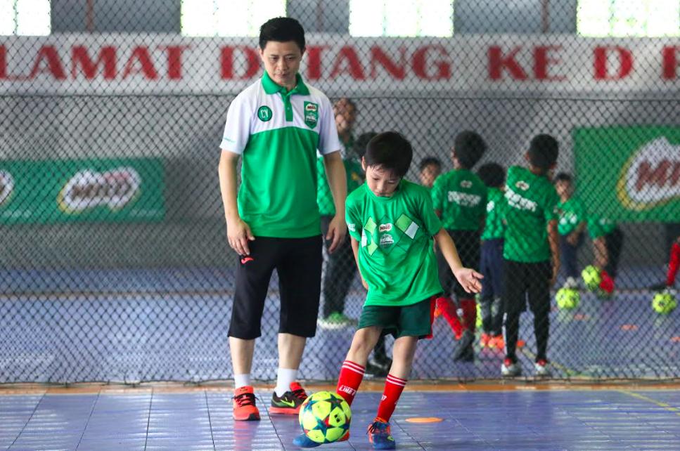 Anak-anak mestilah diajar kesabaran dan sifat mengenal matlamat demi memastikan kejayaan pada masa hadapan - FOTO MILO