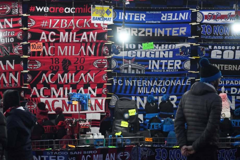 KELAB Itali menunggu lampu hijau untuk menyambung semula latihan. FOTO Agensi