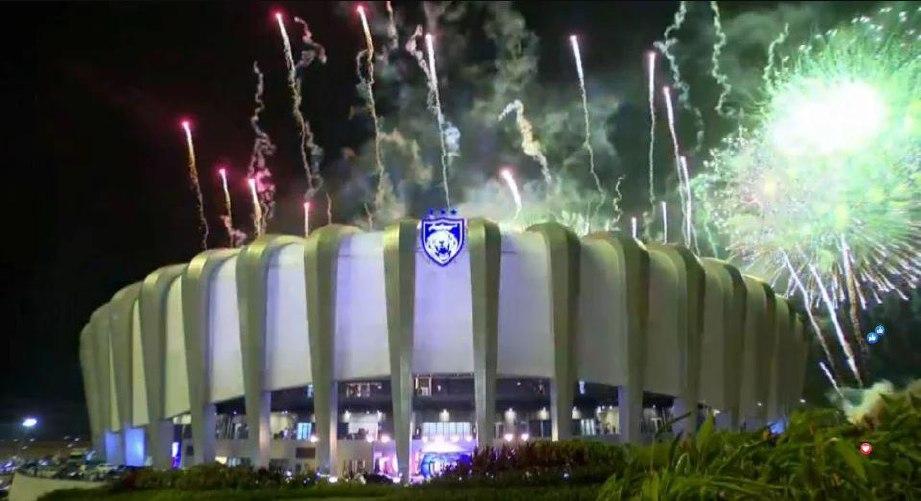 Stadium Sultan Ibrahim mampu memuatkan sejumlah 40,000 penonton dalam satu masa. FOTO FACEBOOK JOHOR SOUTHERN TIGERS