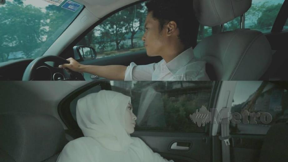 ANTARA babak menarik Hafiz dan Adira dalam muzik video Takdir Tercipta. FOTO Ihsan Nova Music