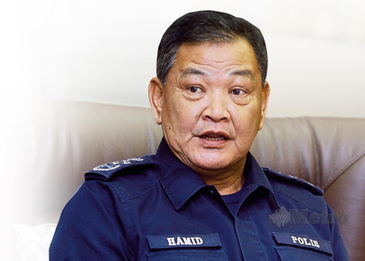 Ketua Polis Negara, Tan Sri Abdul Hamid Bador. FOTO BERNAMA