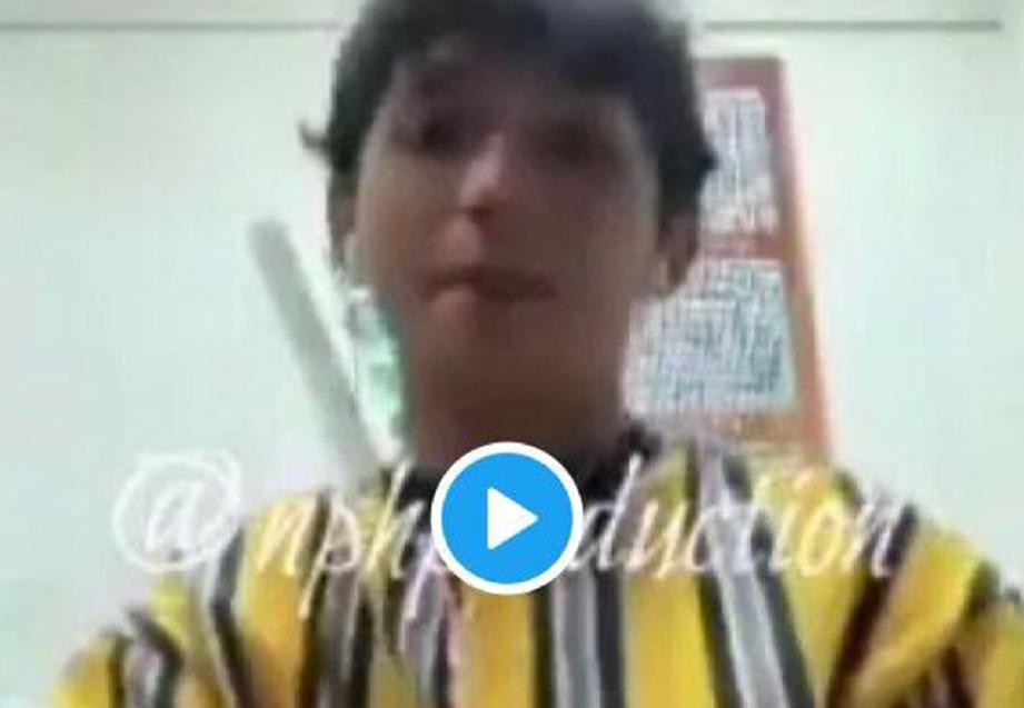 VIDEO mirip Aiman yang tular sejak Jumaat lalu dan hari ini.