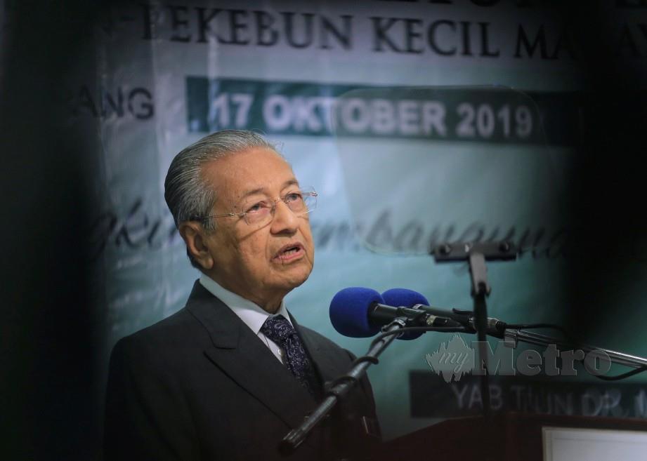 Tun Dr Mahathir. FOTO Arkib NSTP