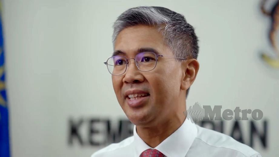 MENTERI Kewangan, Tengku Datuk Seri Zafrul Abdul Aziz.