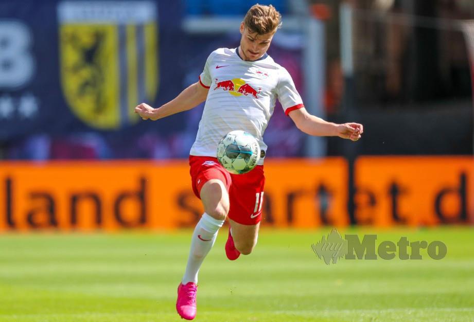 SELAIN Liverpool Werner juga dikatakan sedang diburu Chelsea. FOTP AFP