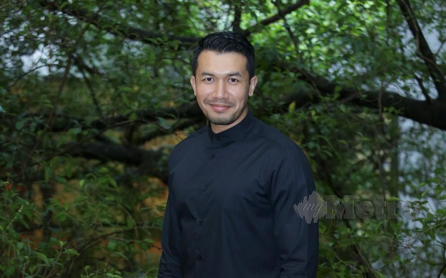 PELAKON, Ungku Ismail Aziz. FOTO Aziah Azmee