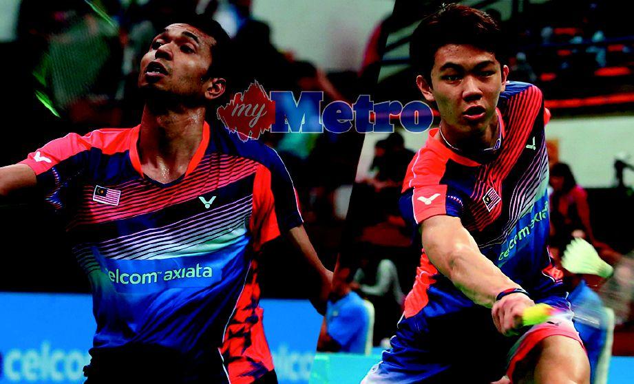 ZII Jia (kanan), Iskandar dilihat lebih berpengalaman dan ada kemajuan dalam setiap pertandingan.