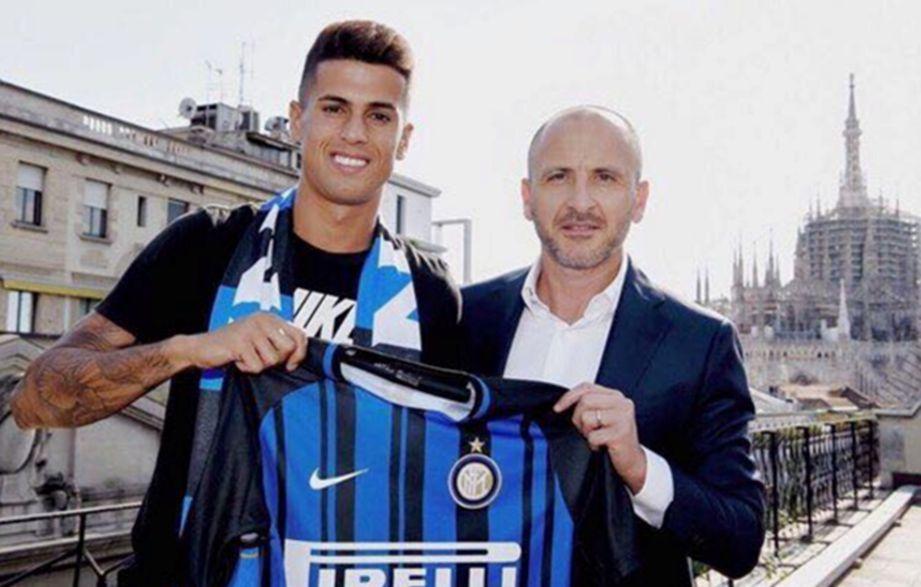 CANCELO (kiri) sertai Inter secara pinjaman.