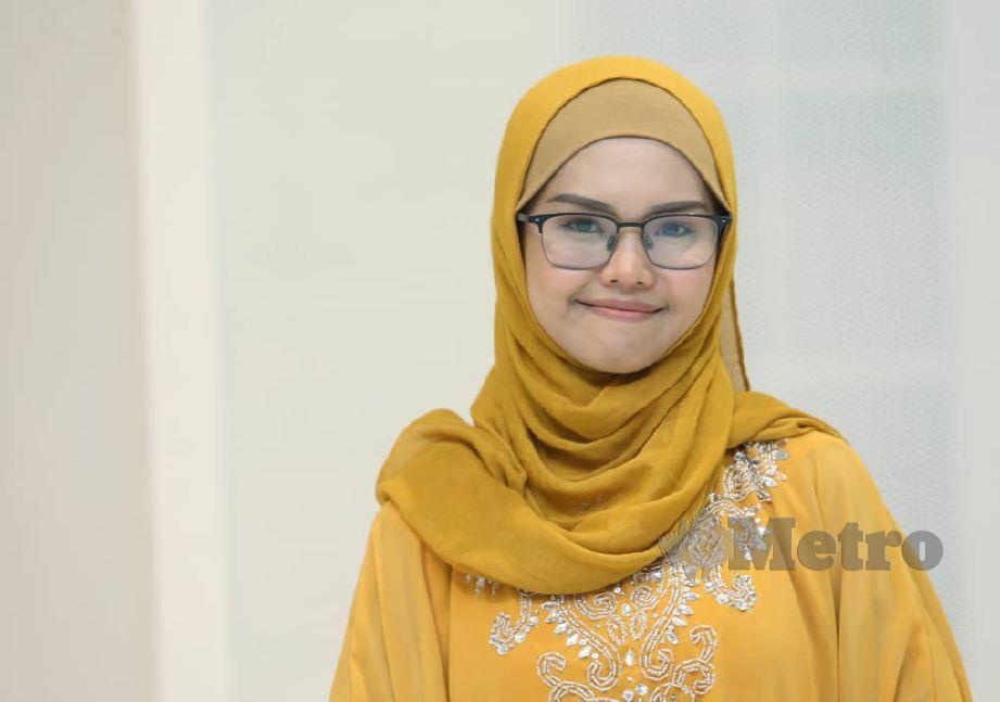 BELLA pada majlis iftar amal Souk bersama Madrasah Tahfiz Syazwan raya 2019 di GMBB KL. -Foto ROHANIS SHUKRI.