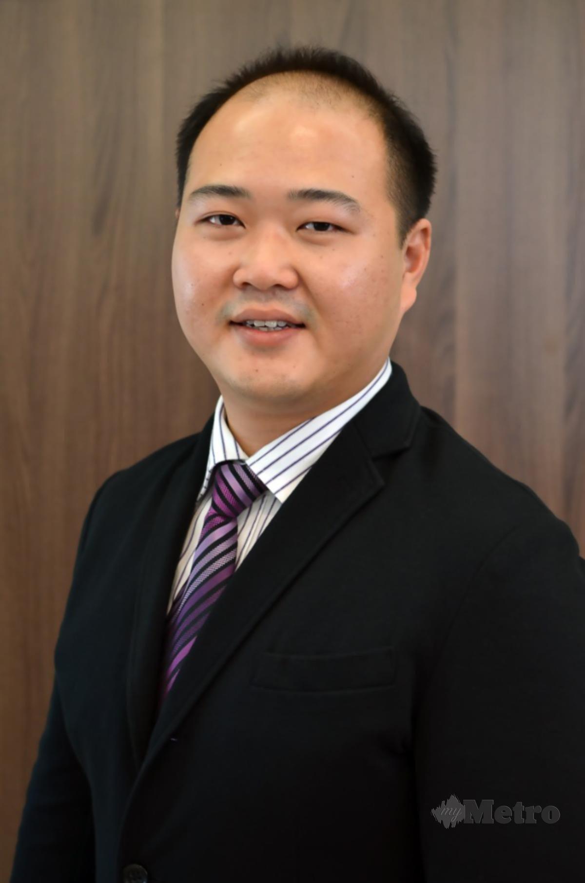Pengarah Eksekutif Leon Fuat, Calvin Ooi Shang How.