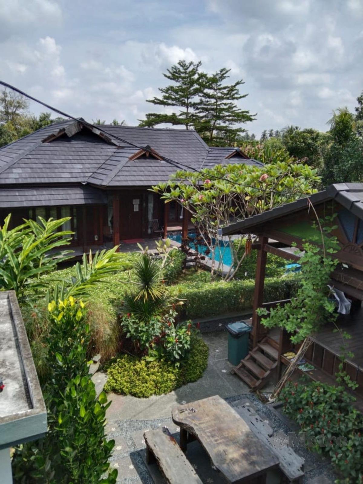 PEMANDANGAN landskap juga inspirasi Bali.