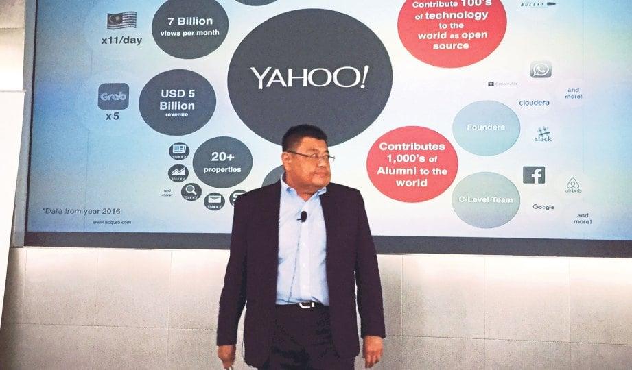 DR Ariffin berkerja 10 tahun di Yahoo Inc.