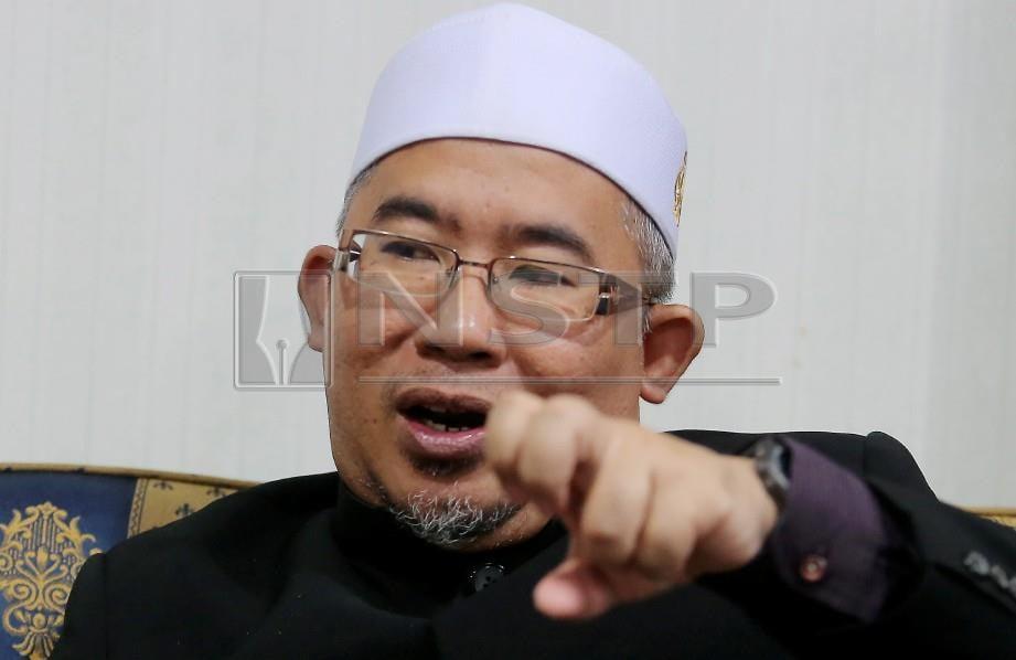TIMBALAN Mufti Perak, Zamri Hashim. FOTO Abdullah Yusof