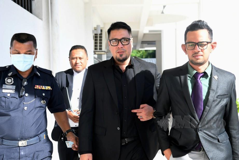 ZED Zaidi didakwa di Mahkamah Majistret Sepang hari ini atas pertuduhan menyebarkan berita palsu berkaitan penularan COVID-19 menerusi laman sosial, bulan lalu. FOTO BERNAMA