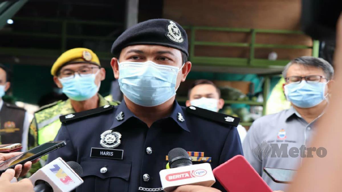 DSP Mohd Haris Ibrahim. FOTO ihsan polis