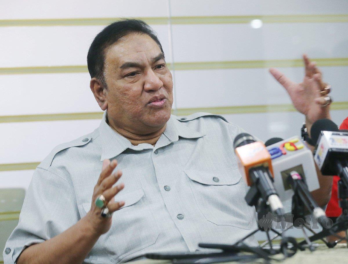 AHMAD Ismail berkata pihaknya enggan timbulkan 'kluster STL'. FOTO Owee Ah Chun