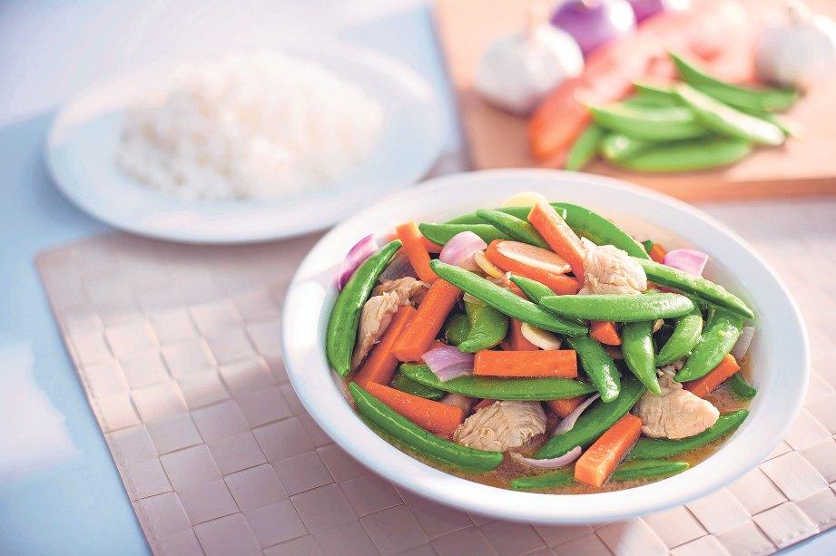 Sayur Campur Masak Sos Tiram - Masak Memasak