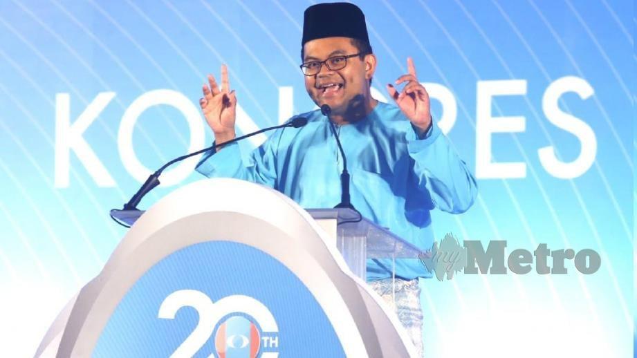 AKMAL Nasrullah ketika ucapan penggulungan pada Kongres Nasional Keadilan ke-14. FOTO Rasul Azli Samad