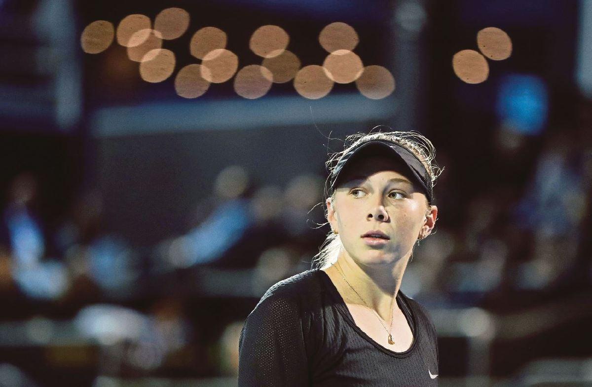 AMANDA miliki persamaan dengan Maria. FOTO AFP