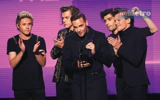 ONE Direction cipta kejayaan buat diri mereka.