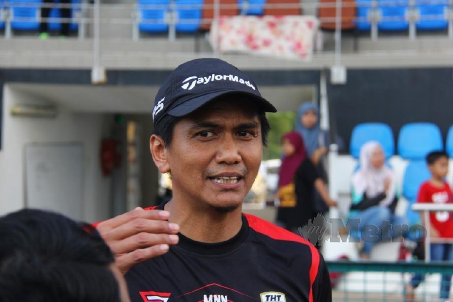 Mohd Nasihin masih menanti kemunculan pemain import pasukannya. FOTO Malik Muhamad