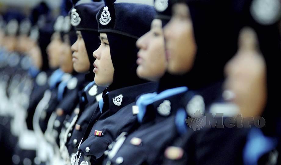 ANGGOTA dan kakitangan awam wanita Polis Diraja Malaysia (PDRM) yang berkelayakan akan ditawarkan ujian saringan kanser serviks menggunakan kaedah ujian Virus Papiloma Manusia (HPV) secara percuma. FOTO Arkib NSTP