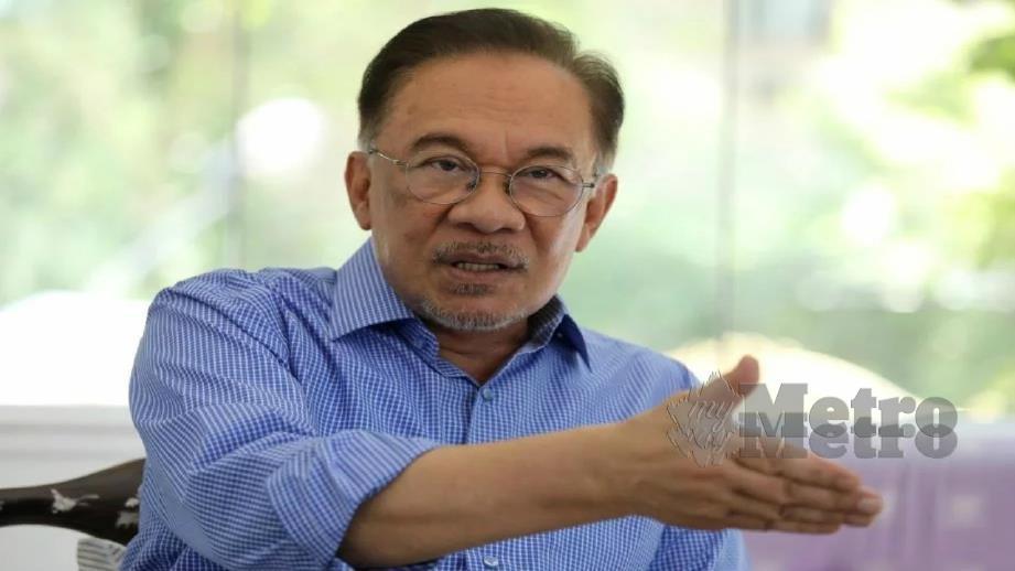 DATUK Seri Anwar Ibrahim. FOTO NSTP