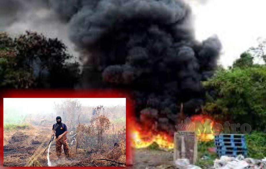 Pembakaran terbuka turut boleh menghasilkan gas beracun ujar Prof Abdull Rahim.