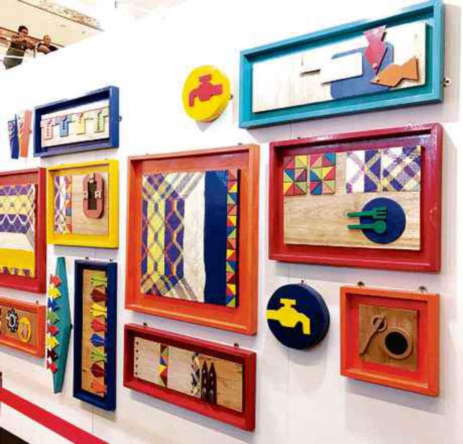 ANTARA karya seni hasil bakat muda dipamerkan.