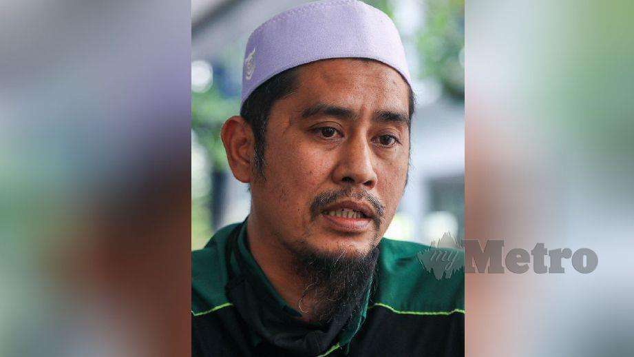 MOHD Asri Hamid, 42, atau Asri Janggut. FOTO arkib NSTP