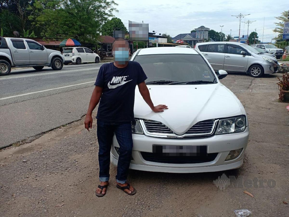 AWIE memperolehi lesen memandu semula dan mempunyai kereta sendiri. FOTO AHMAD RABIUL ZULKIFLI