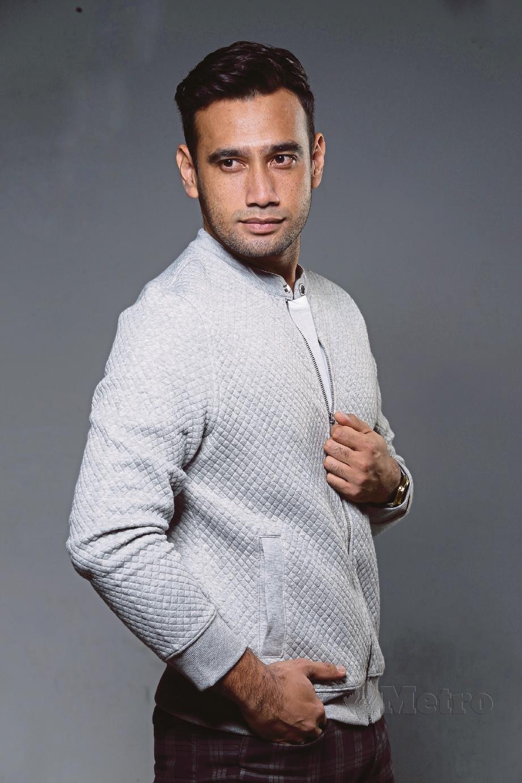WATAK Raimie lelaki ego yang dibawa dalam drama Maaf Tak Indah sangat berkesan. FOTO Aziah Azmee