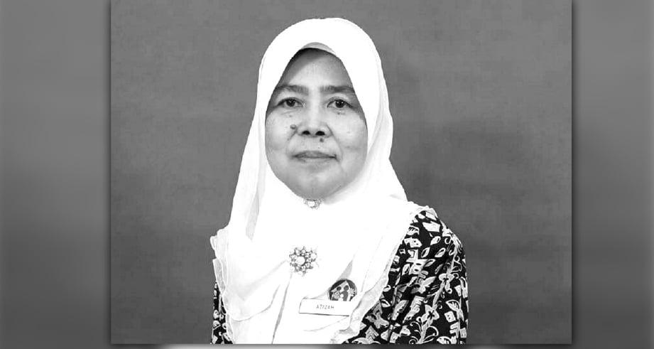 Allahyarhamah Puan Sri Azizah Hamdi.