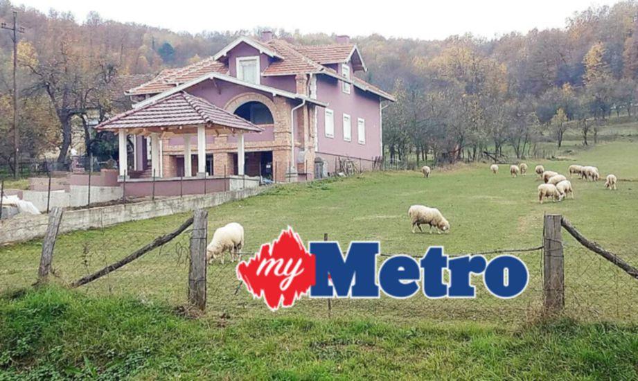 LADANG dan rumah agam milik orang kaya di Serbia. IHSAN Datuk Hasan Nawawi Abdul Rahman
