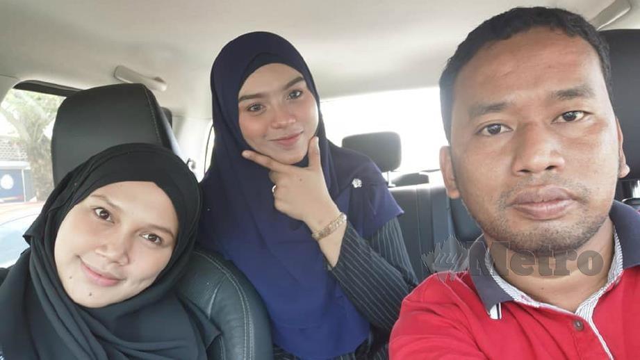 MAHYUDIN (kanan) bersama Suhana (kiri) dan Yaya (tengah). FOTO FB Baa Azhar