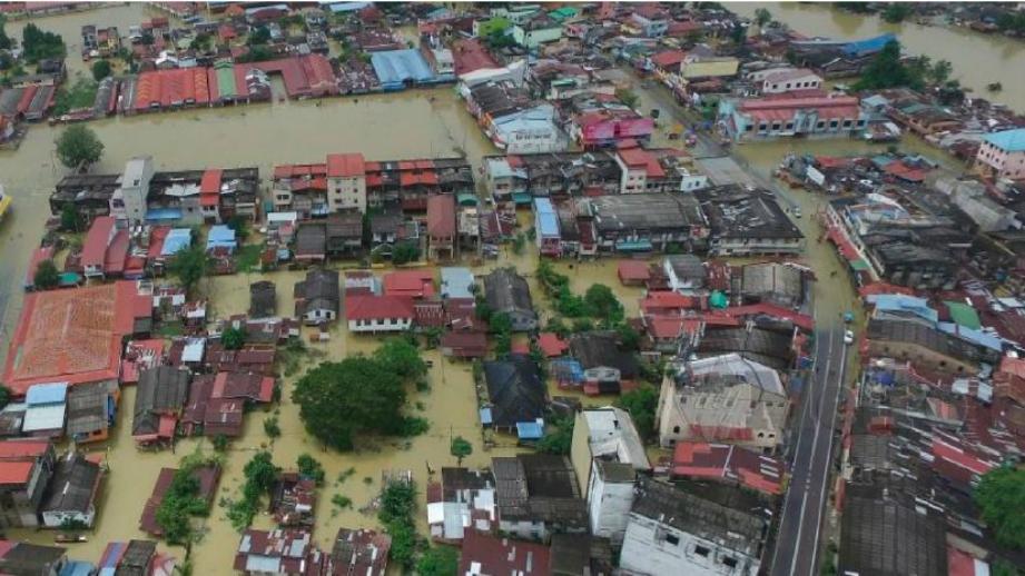 KEADAAN banjir di Rantau Panjang pada 2019. FOTO Arkib NSTP.