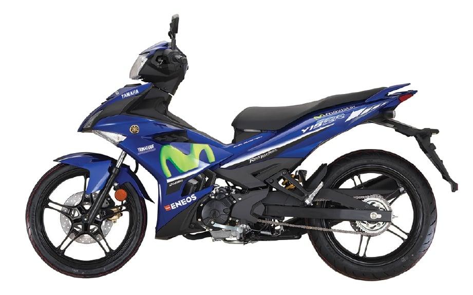 MASIH mengekalkan DNA moped berkuasa.