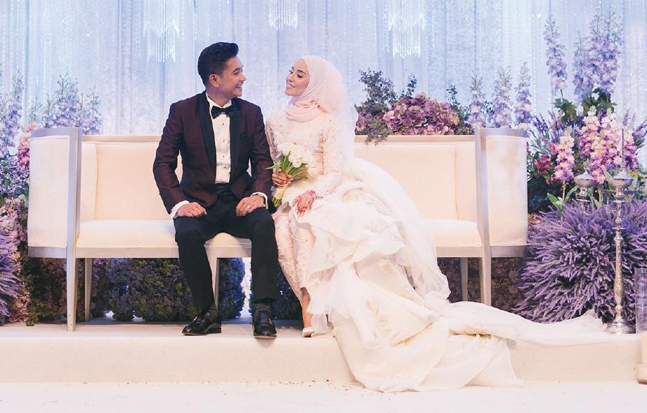 BELLA Dally dan Arif Izuddin berkenalan dalam tempoh tujuh bulan sebelum bernikah. FOTO: project2pi (Instagram: @project2pi)