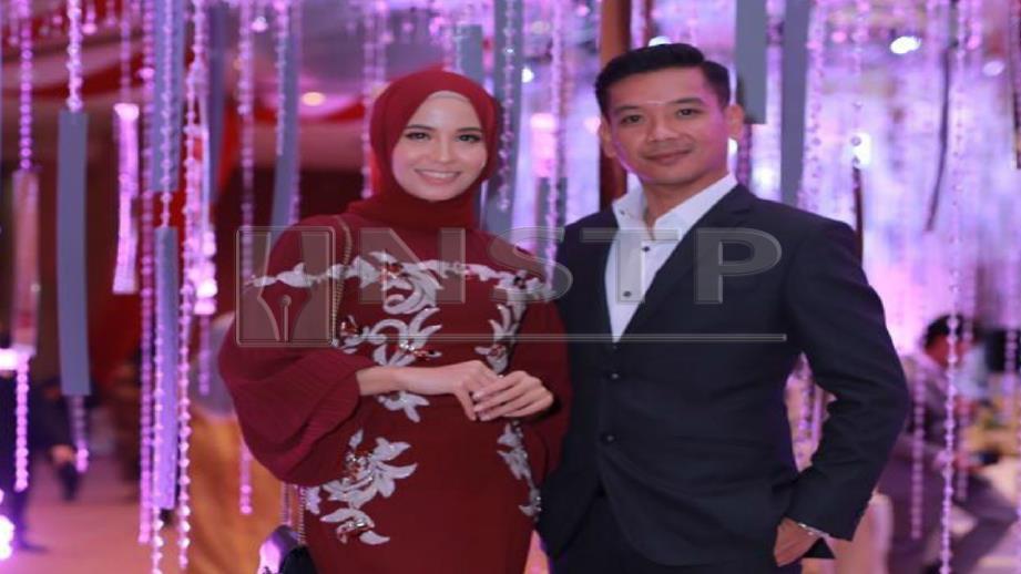 BELLA dan Arif. FOTO Ihsan Bella Dally