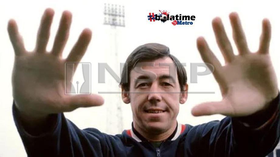 Gordon Banks muncul juara dunia 1966 bersama England. FOTO Empics Sport