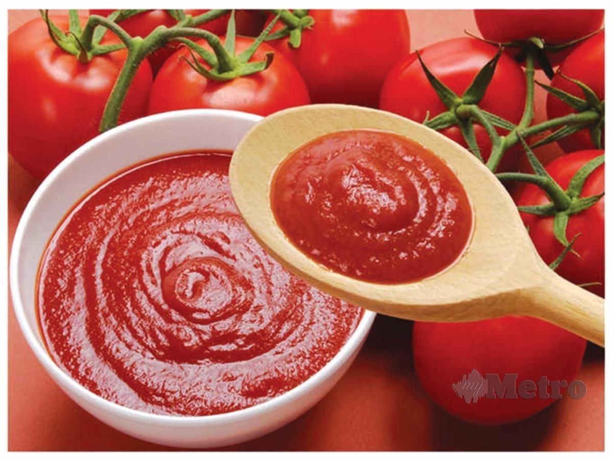 KURANGKAN penggunaan sos tomato dalam masakan.