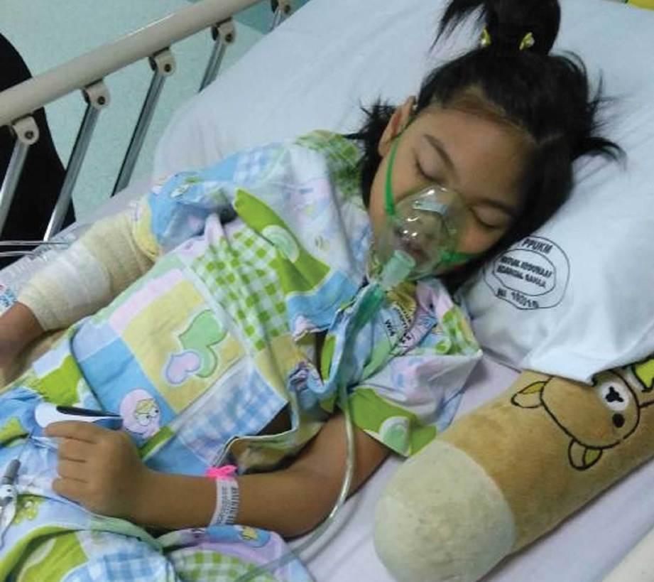 NUR Wadihan ketika kecil sangat sensitif kerana imunisasi lemah.
